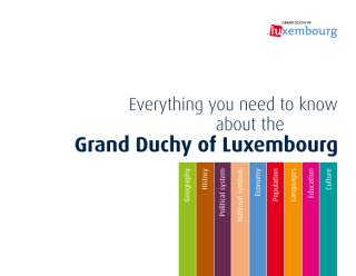 Everything you need to know about the Grand Duchy of Luxembourg