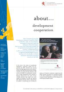 about... development cooperation