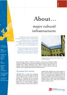a_propos_culture_fr, About... major cultural infrastructures