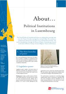About... Political Institutions in Luxembourg