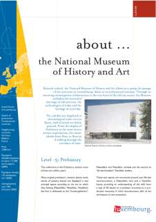 à propos Langues Fr, about… the National Museum of History and Art