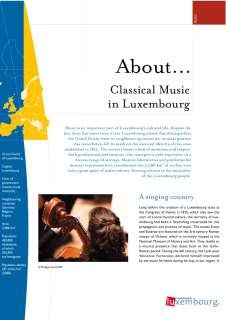 About... Classical Music in Luxembourg