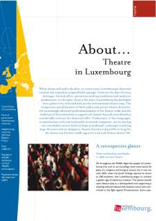 About... Theatre in Luxembourg
