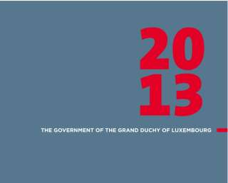 The government of the Grand Duchy of Luxembourg 2013