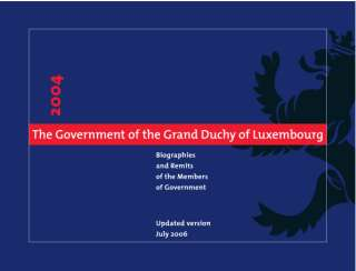 The Government of the Grand Duchy of Luxembourg 2004