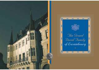 ENGLISH GR-DUC.pdf, The Grand Ducal Family of Luxembourg