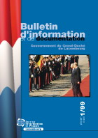 Bulletin d'information et de documentation 1/1999