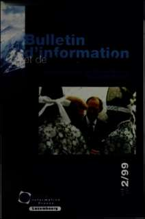 Bulletin d'information et de documentation 2/1999