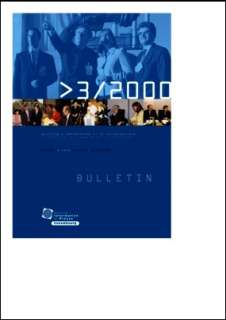 Bulletin d'information et de documentation 3/2000