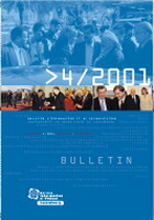 int012.xpd, Bulletin d'information et de documentation 4/2001