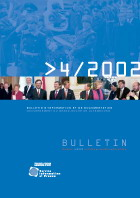 Bulletin d'information et de documentation 4/2002