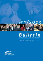 Bulletin d'information et de documentation 1/2003