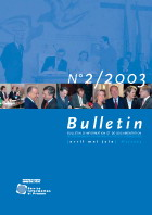 Bulletin d'information et de documentation 2/2003