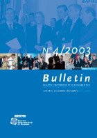 Bulletin d'information et de documentation 4/2003