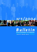 Bulletin d'information et de documentation 1/2004